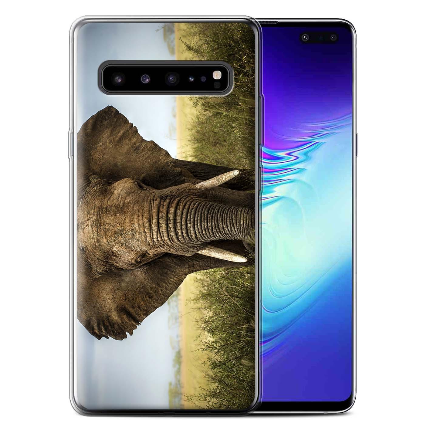 Gel-TPU-Case-for-Samsung-Galaxy-S10-5G-Wildlife-Animals thumbnail 11