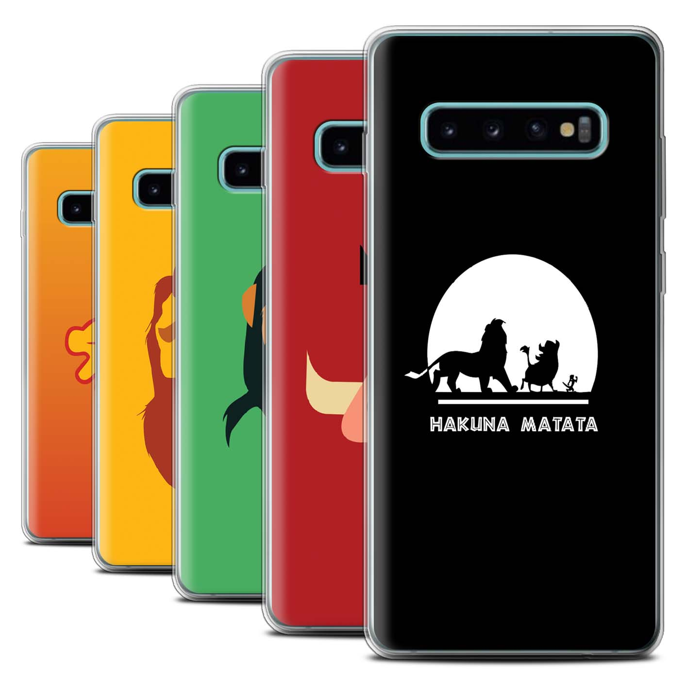 Gel-TPU-Case-for-Samsung-Galaxy-S10-Plus-Cartoon-African-Animals