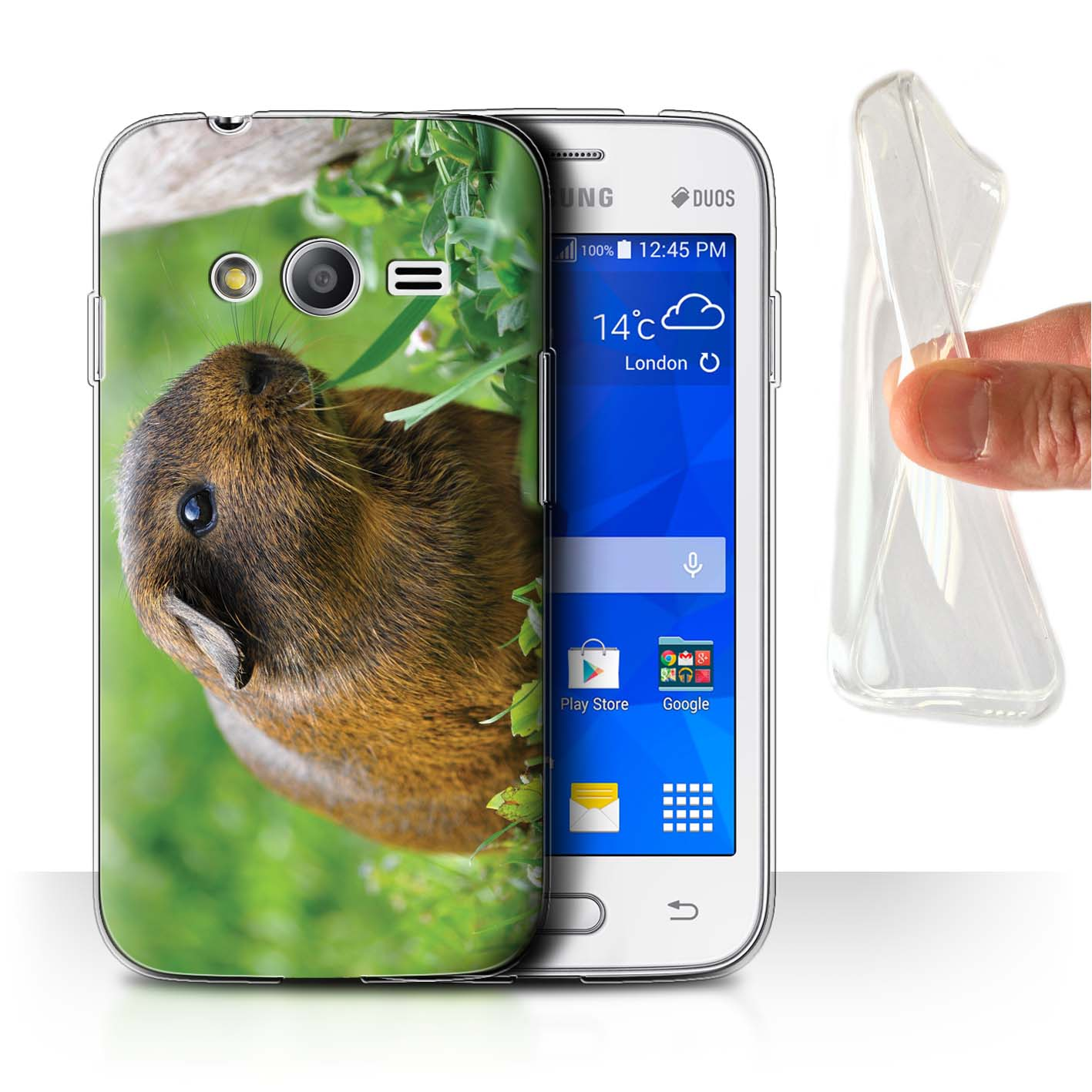 Coque-Etui-Gel-TPU-pour-Samsung-Galaxy-J-Note-Smartphone-Animaux-Mignons-Housse