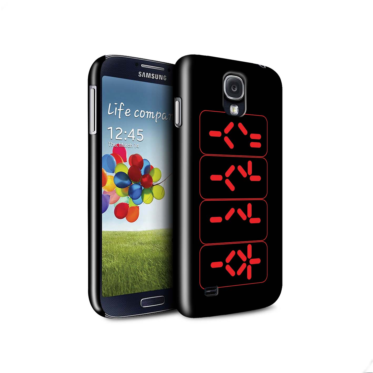STUFF4-Gloss-Phone-Case-for-Samsung-Galaxy-S4-SIV-Alien-Hunter-Film-Art