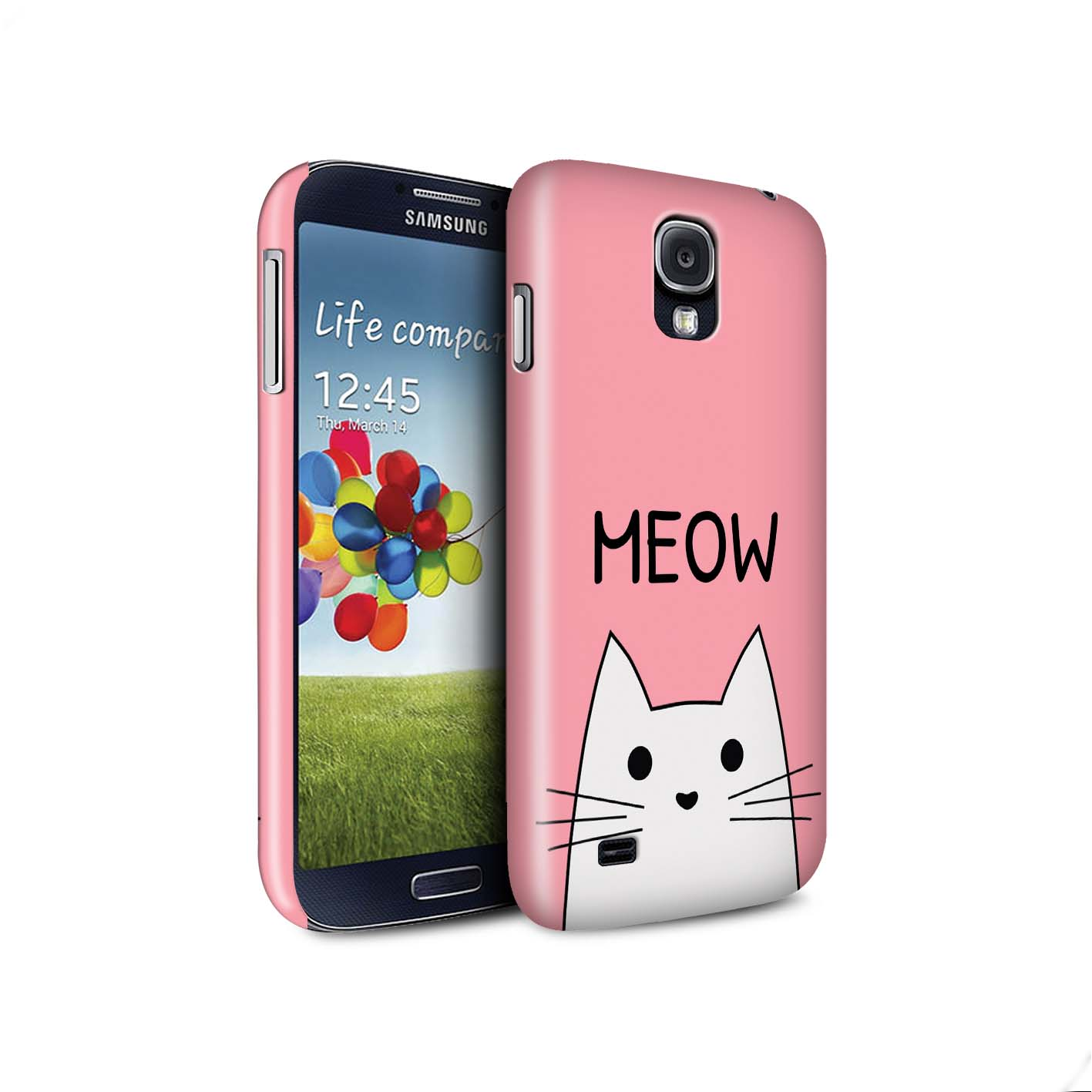 STUFF4-Matte-Phone-Case-for-Samsung-Galaxy-S4-SIV-Cute-Cartoon-Cat