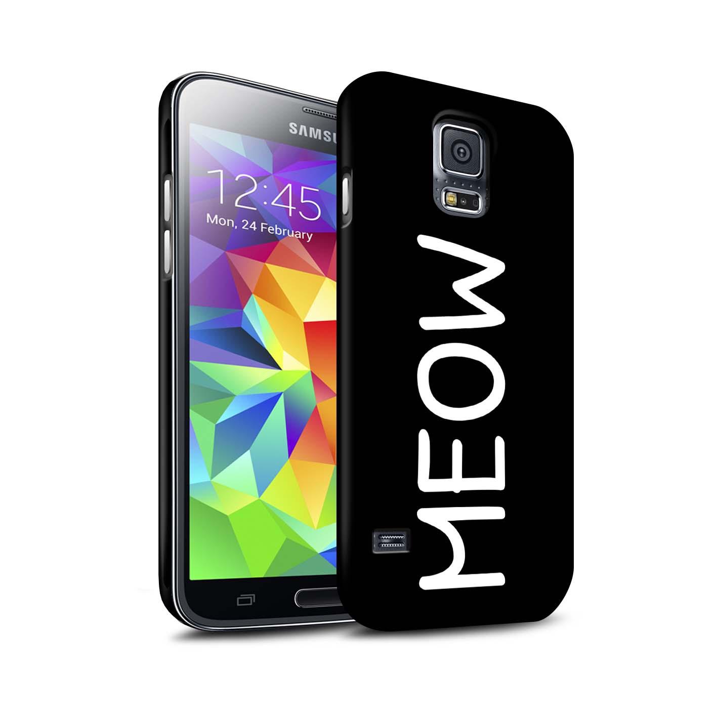 Coque-Etui-Matte-pour-Samsung-Galaxy-S5-Neo-G903-Chat-Mignon-Dessin-Anime