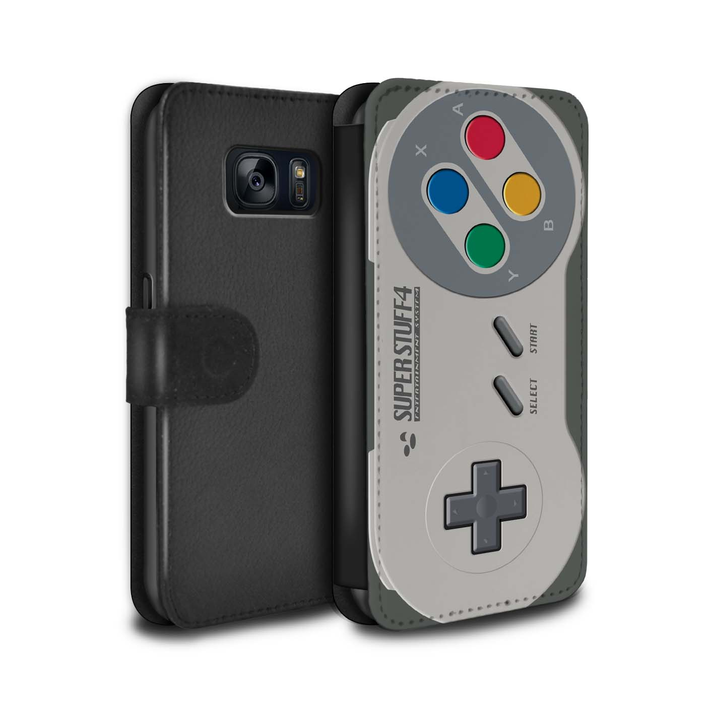 Case-Wallet-for-Samsung-Galaxy-S7-G930-Games-Console thumbnail 14