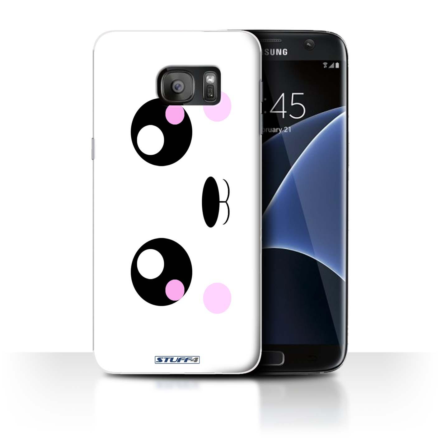 online store e9d11 186b2 Protective Hard Back Case for Samsung Galaxy S7 Edge/G935 / Cute Kawaii  Collection / Panda