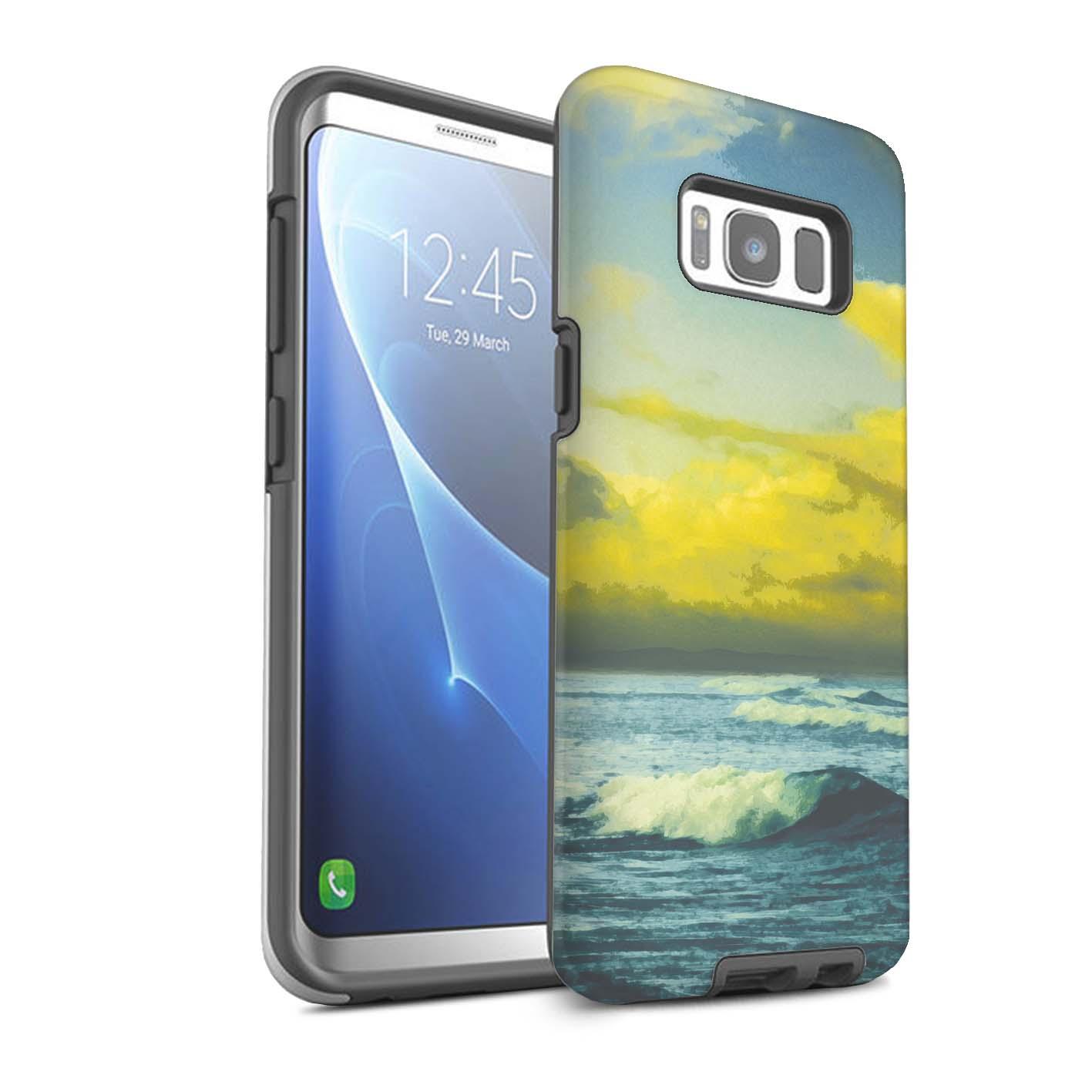 Robuste-Matte-Antichoc-Etui-STUFF4-pour-Samsung-Galaxy-S8-G950-Beau-Monde-Art