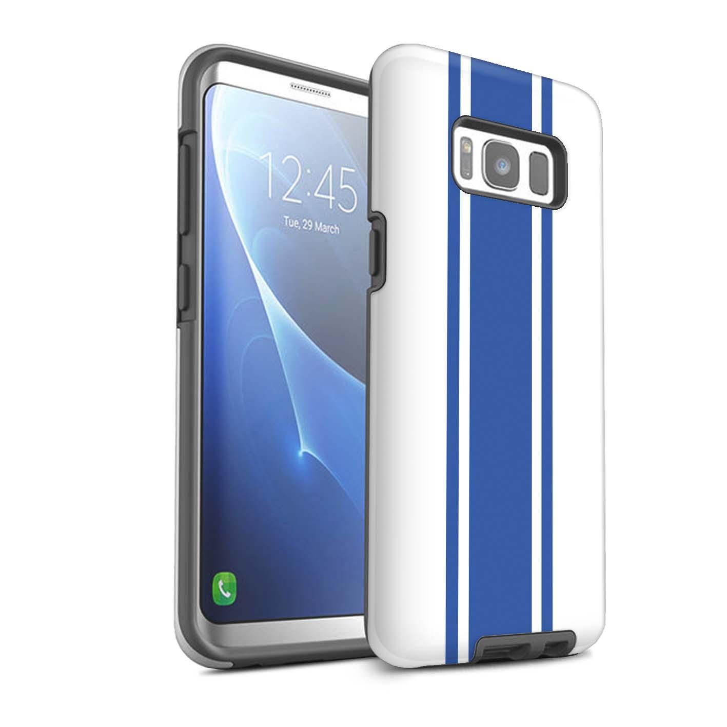 Stuff4 Matte Tough Phone Case for Samsung Galaxy S8 g950 racing Car