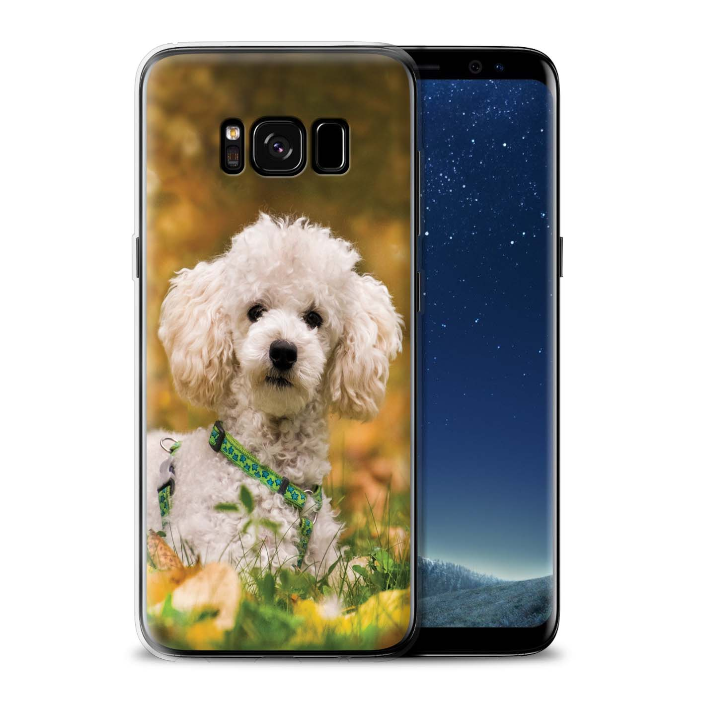Gel-TPU-Case-for-Samsung-Galaxy-S8-G950-Popular-Dog-Canine-Breeds thumbnail 16