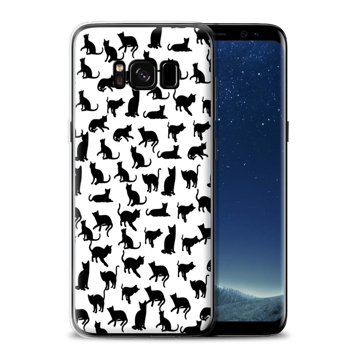 STUFF4-Gel-TPU-Case-Cover-for-Samsung-Galaxy-S8-Plus-G955-Cute-Cartoon-Cat