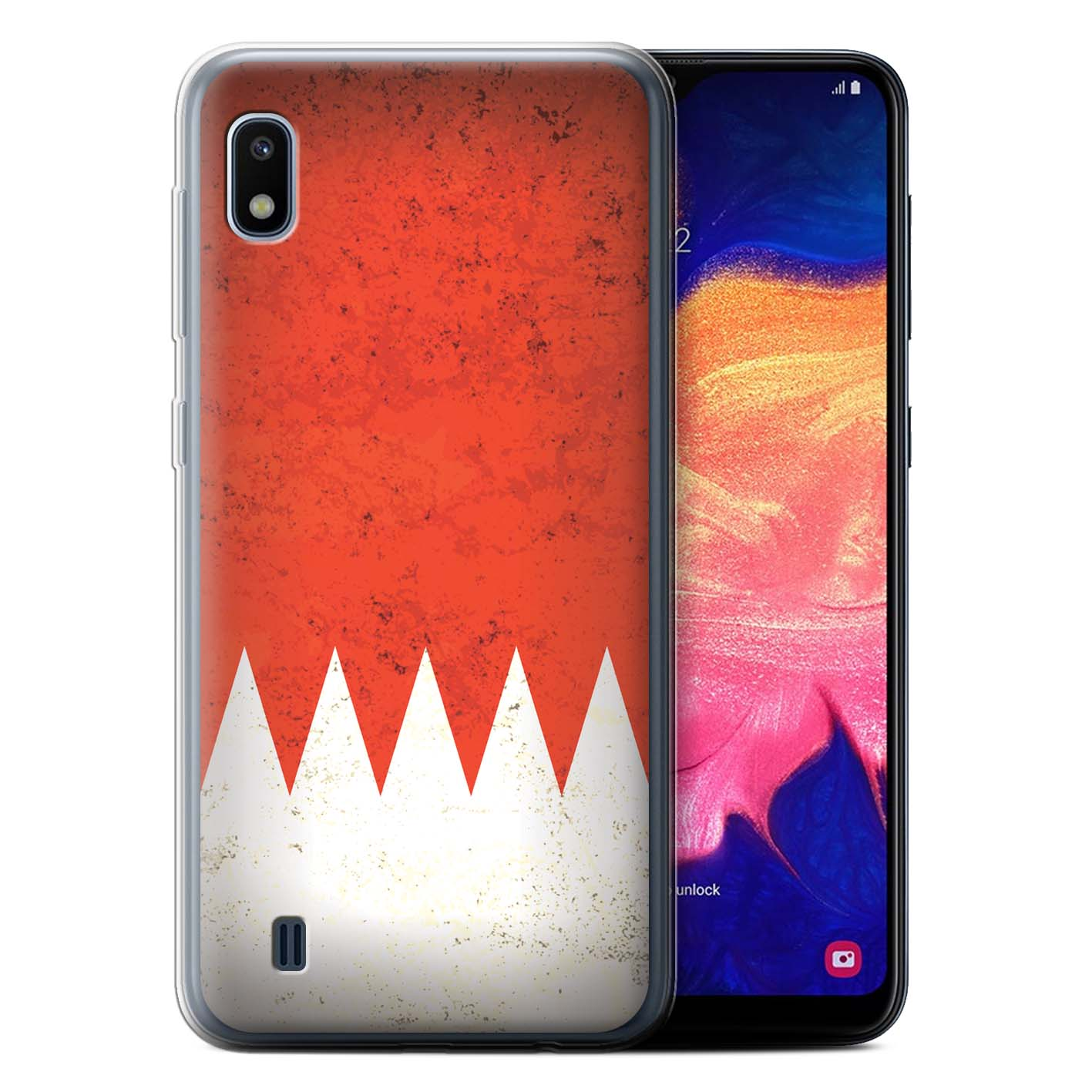 Gel-TPU-Case-for-Samsung-Galaxy-A10-2019-Asian-Flag thumbnail 10