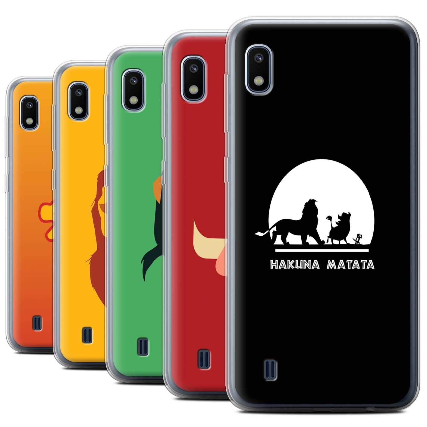 Gel-TPU-Case-for-Samsung-Galaxy-A10-2019-Cartoon-African-Animals