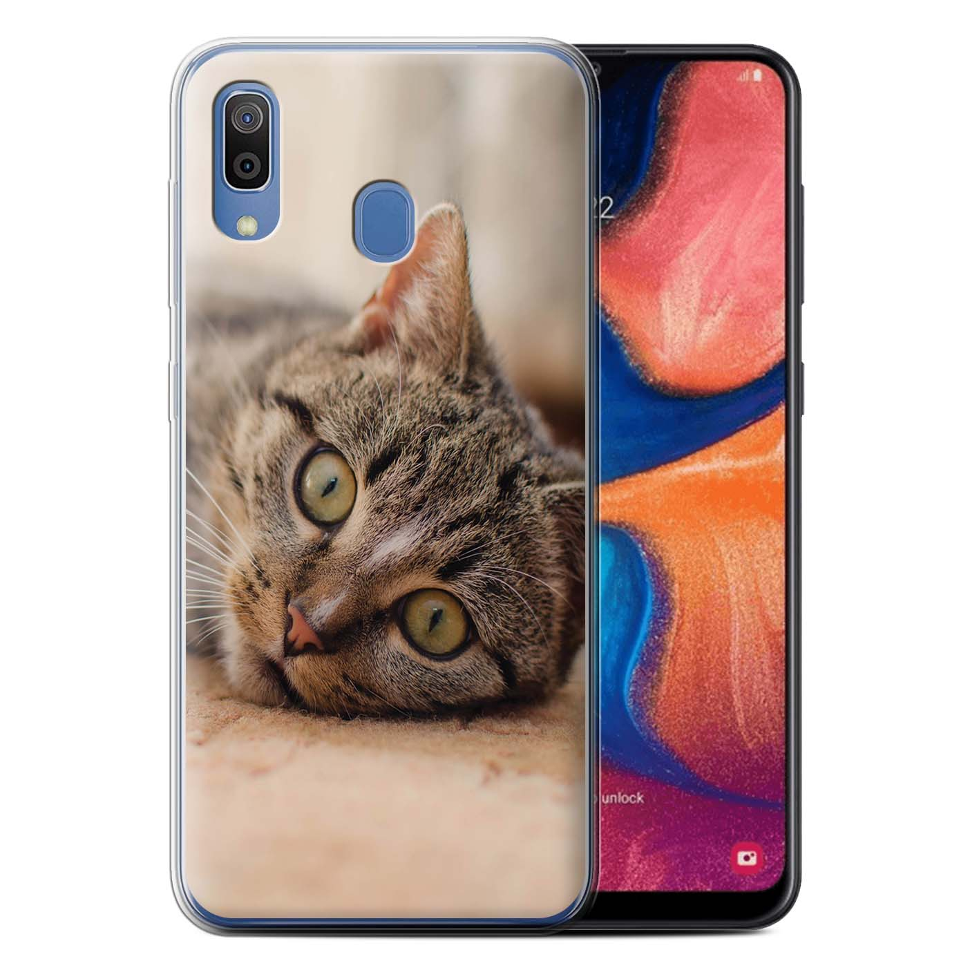 Gel-TPU-Case-for-Samsung-Galaxy-A20-A30-2019-Popular-Cat-Feline-Breeds thumbnail 15