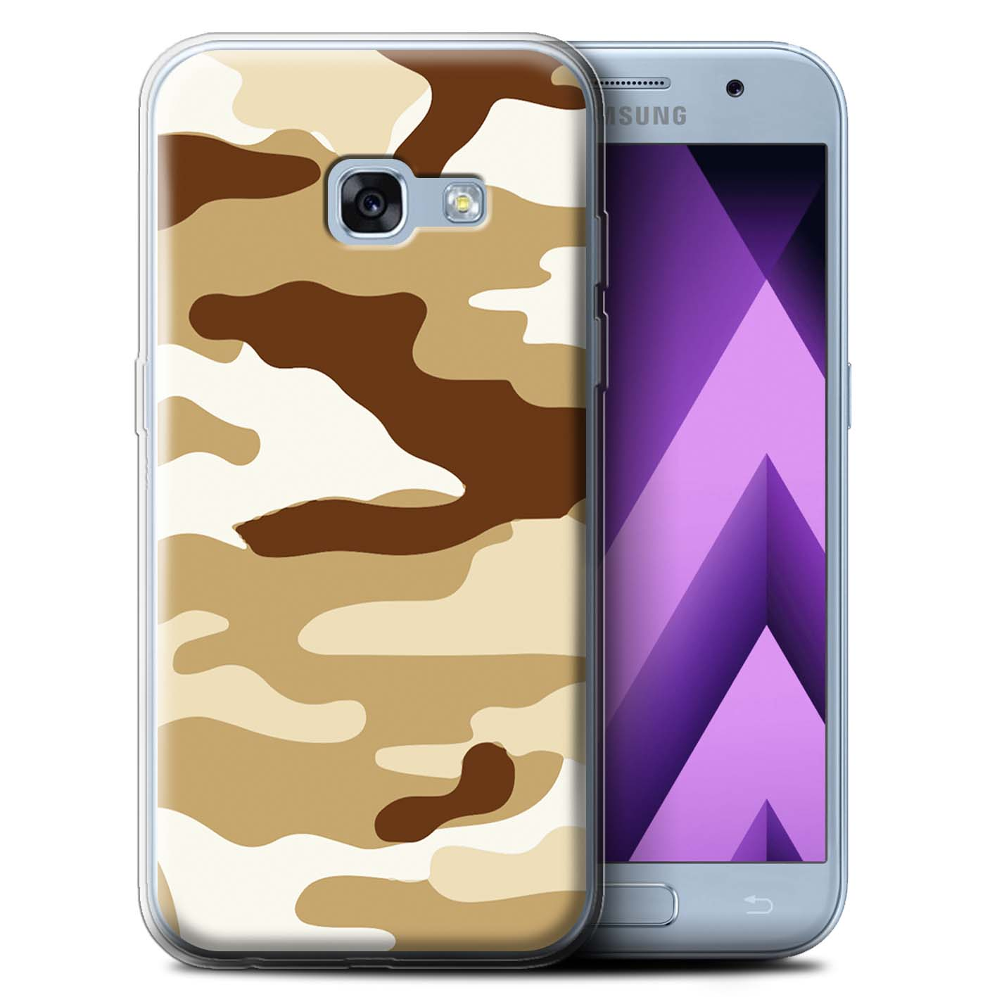 Gel-TPU-Case-for-Samsung-Galaxy-A3-2017-Camouflage-Army-Navy thumbnail 13
