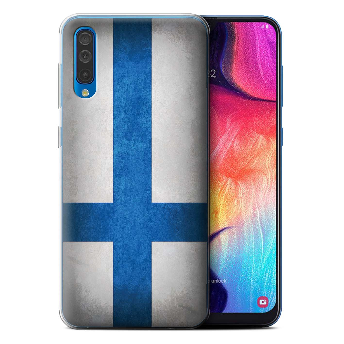 Gel-TPU-Case-for-Samsung-Galaxy-A50-2019-Flags thumbnail 27