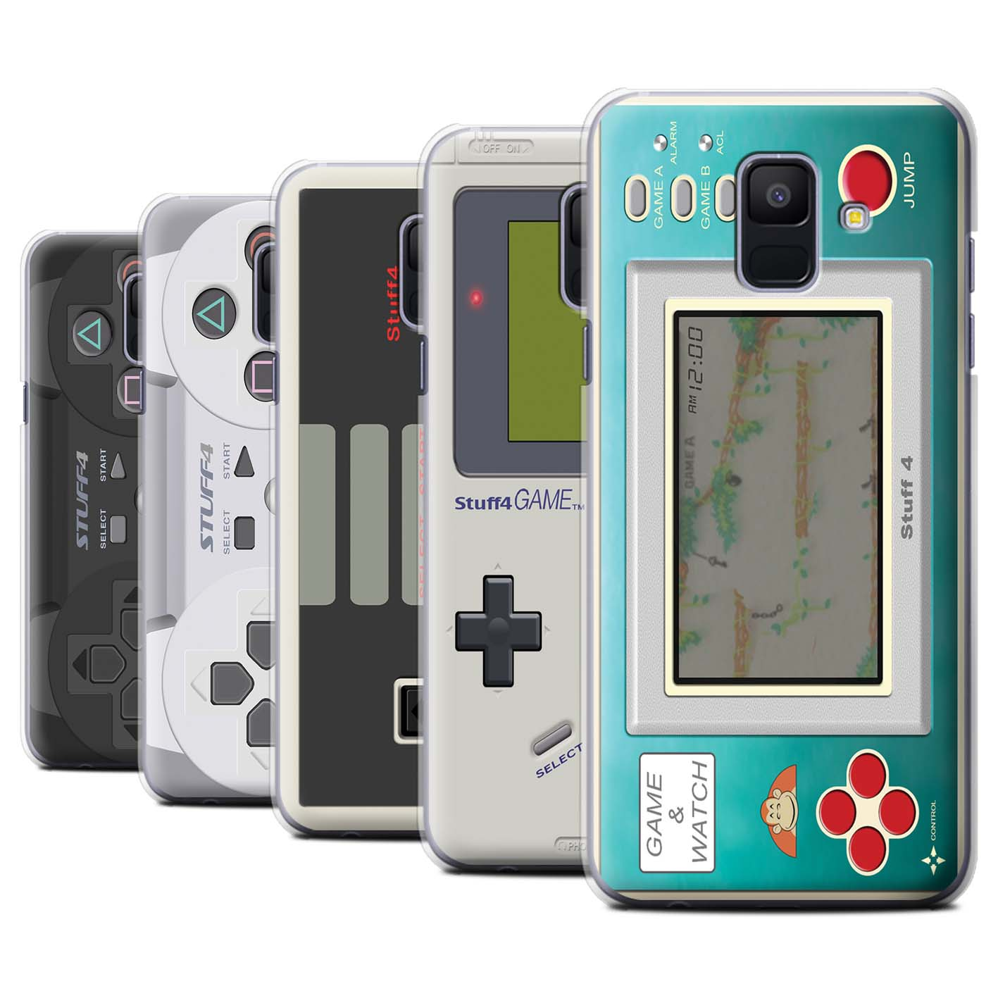 Phone-Case-for-Samsung-Galaxy-A6-2018-Games-Console