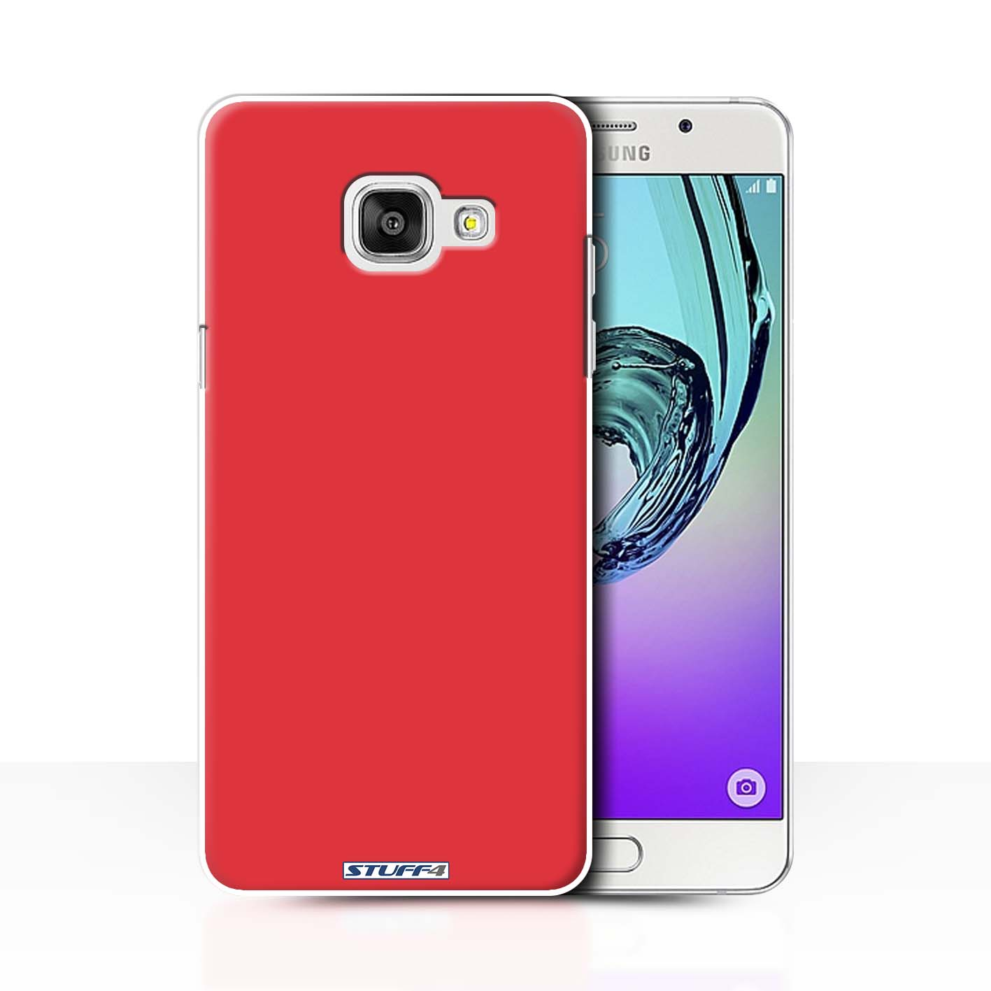 best website 49ca0 6f669 Protective Hard Back Case for Samsung Galaxy A7 (2016) / Colours Collection  / Red