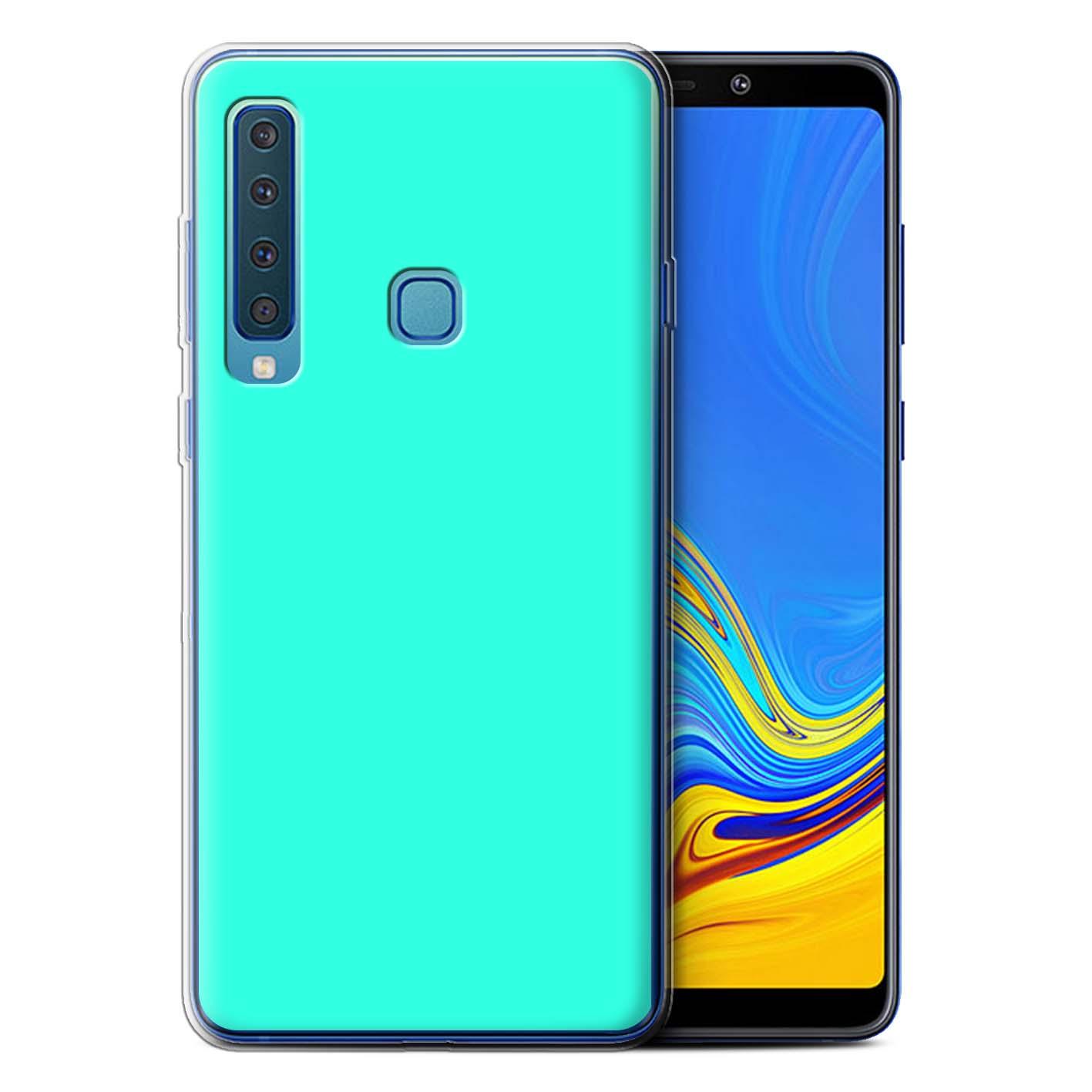 Gel-TPU-Coque-Etui-de-Stuff4-pour-Samsung-Galaxy-A9-2018-Couleurs