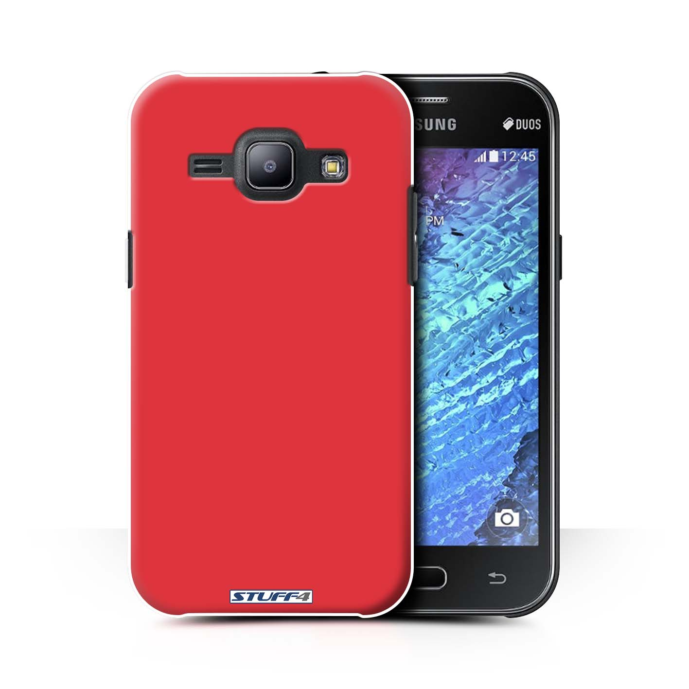 quite nice 6e01a 76d47 Red Colours Design for Samsung Galaxy J1 Ace/J110 Clear Hard Back Case