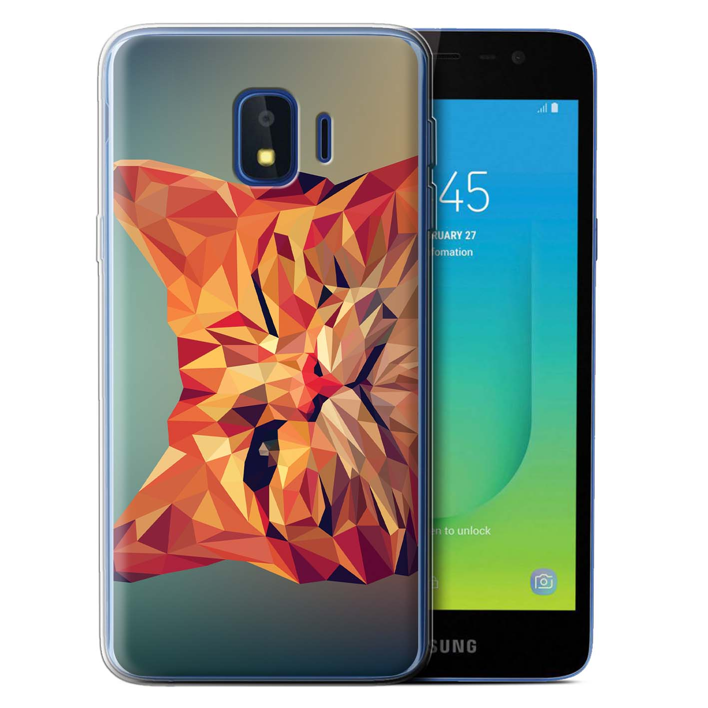 Gel-TPU-Case-for-Samsung-Galaxy-J2-Core-J260-Geometric-Animal-Wildlife thumbnail 12