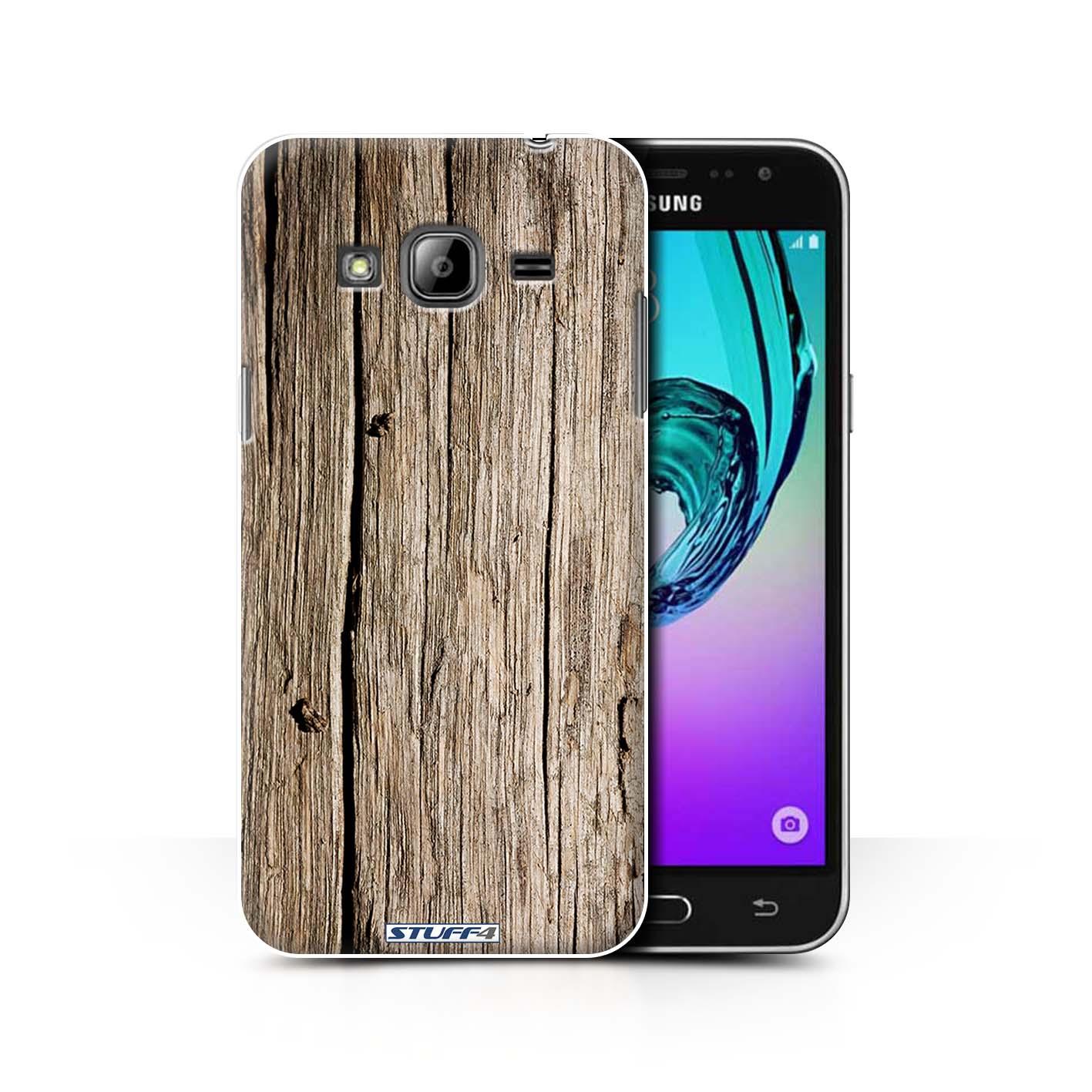 separation shoes 41b74 3eeea Driftwood Wood Grain Effect/Pattern Design for Samsung Galaxy J3 ...