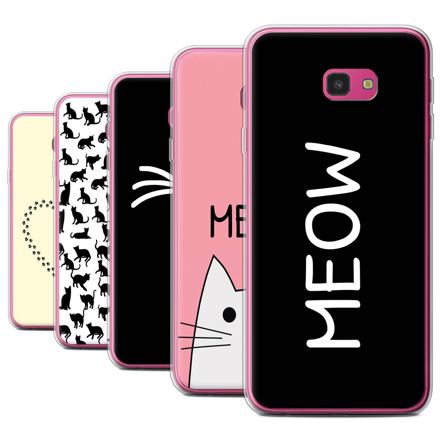 Gel-TPU-Case-for-Samsung-Galaxy-J4-Plus-2018-Cute-Cartoon-Cat