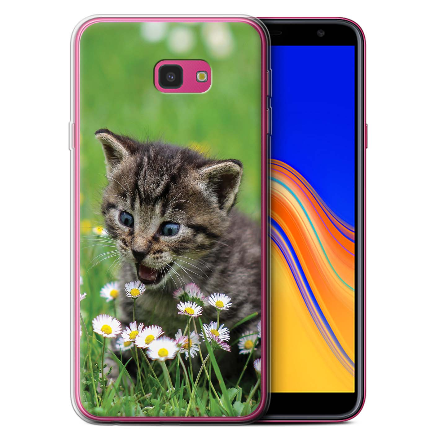 Gel-TPU-Case-for-Samsung-Galaxy-J4-Plus-2018-Popular-Cat-Feline-Breeds thumbnail 10