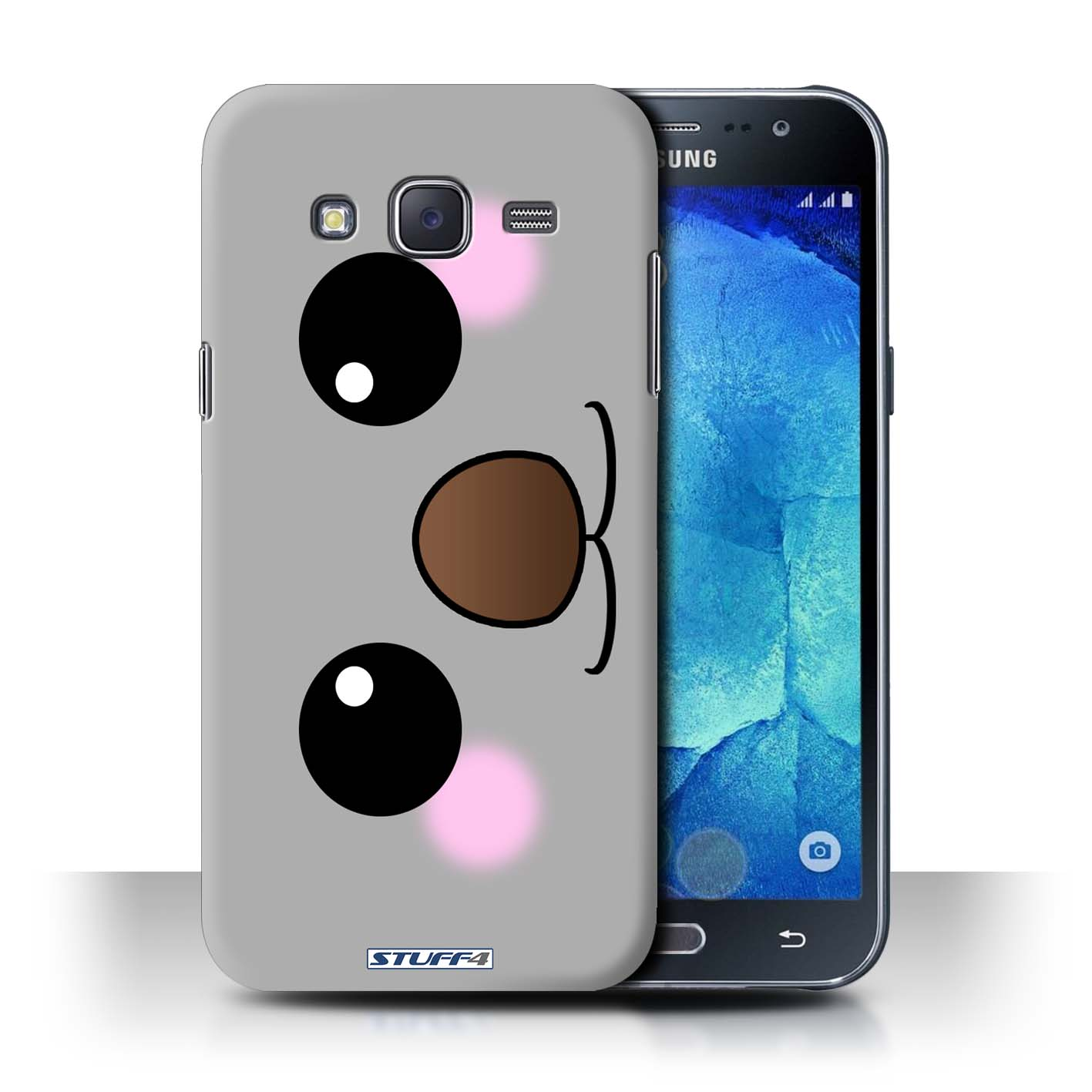 sneakers for cheap 603ab 168c3 Protective Hard Back Case for Samsung Galaxy J5/J500 / Cute Kawaii  Collection / Koala Bear