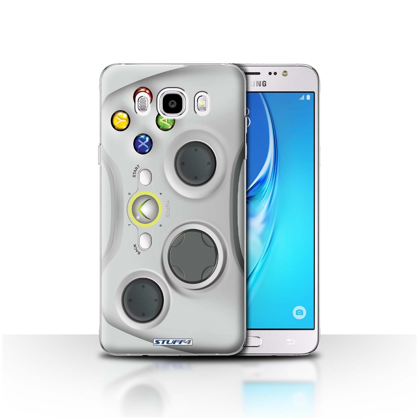 quality design fac34 50e79 Protective Hard Back Case for Samsung Galaxy J5 2016 / Games Console  Collection / White Xbox 360