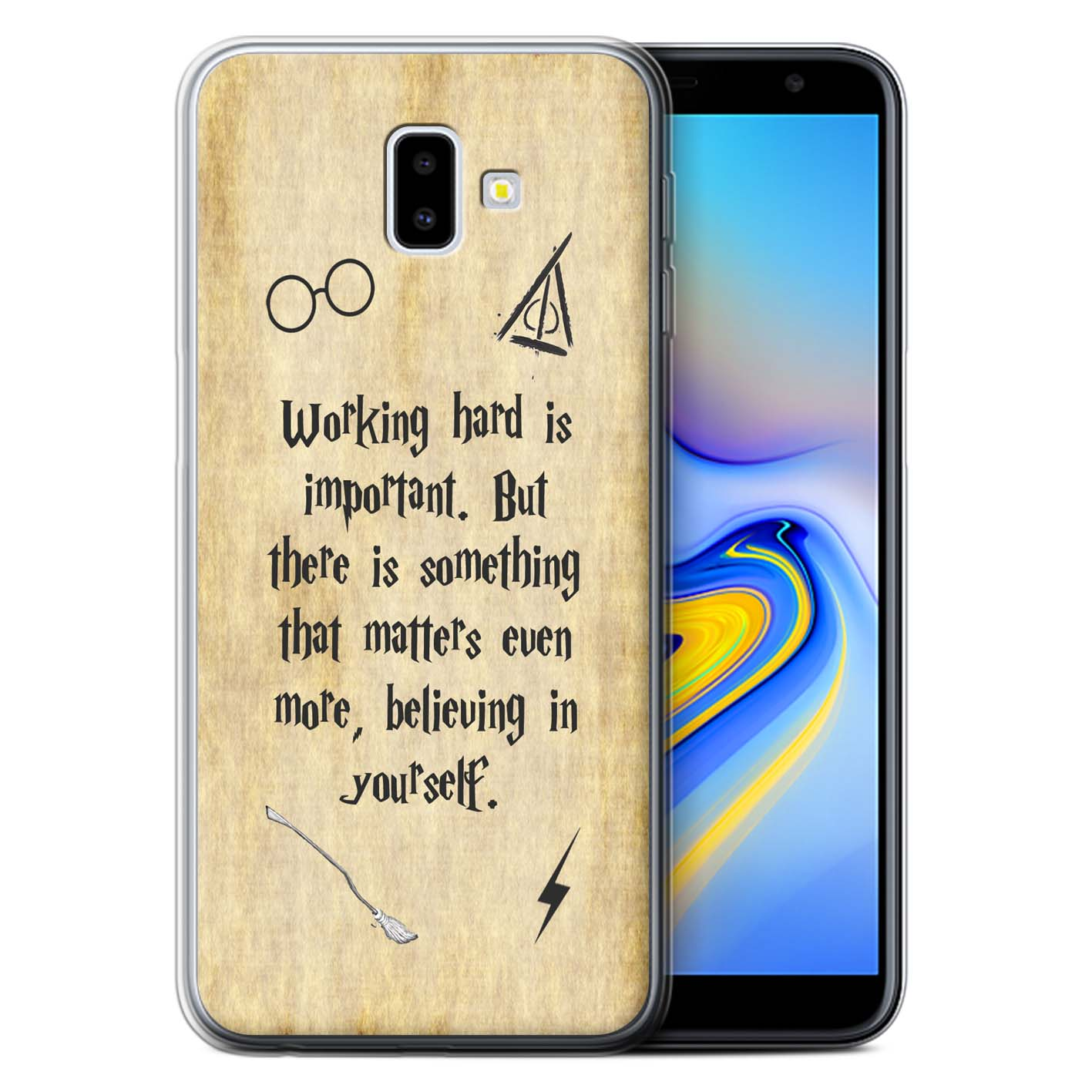 Gel-TPU-Case-for-Samsung-Galaxy-J6-Plus-2018-J610-School-Of-Magic-Film-Quotes thumbnail 16