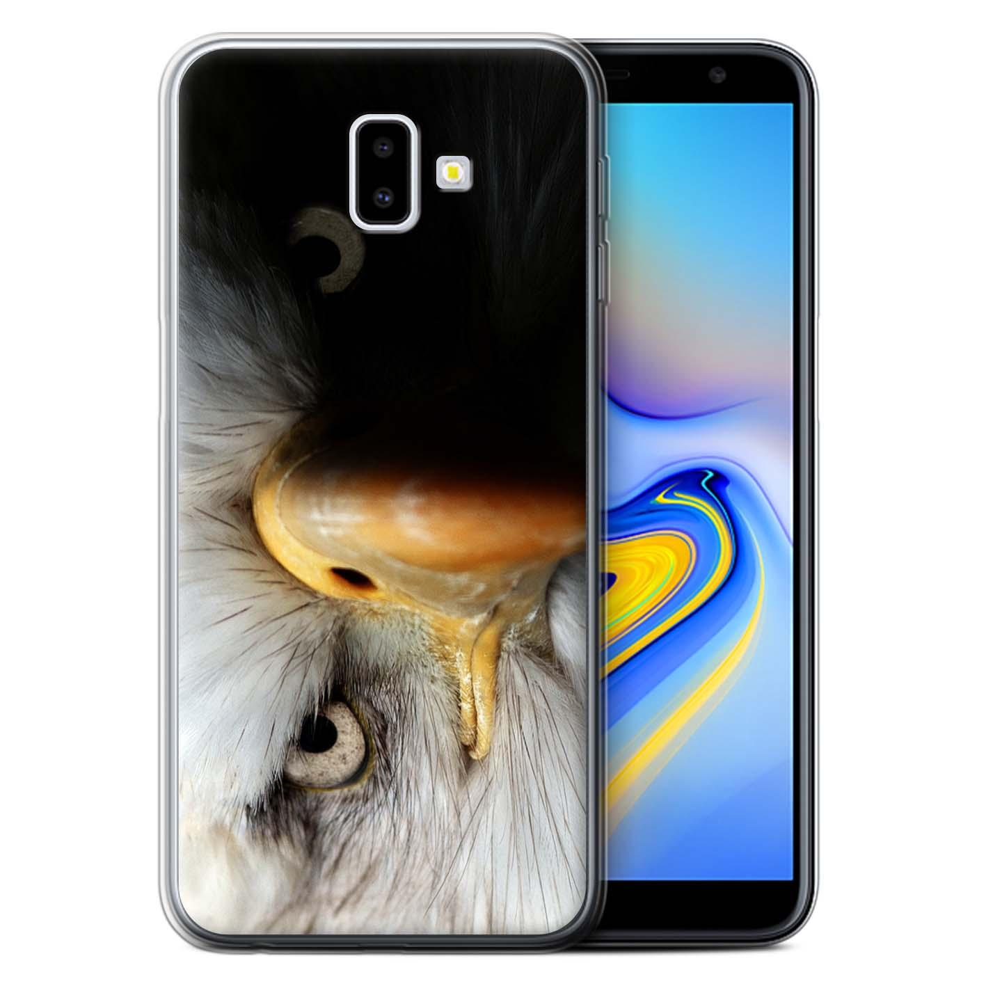 Gel-TPU-Case-for-Samsung-Galaxy-J6-Plus-2018-J610-Wildlife-Animals thumbnail 10