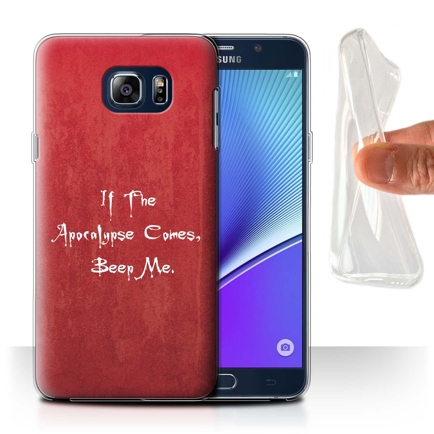 Gel-TPU-Coque-Etui-de-Stuff4-pour-Samsung-Galaxy-Note-5-N920-Tueur-Vampire