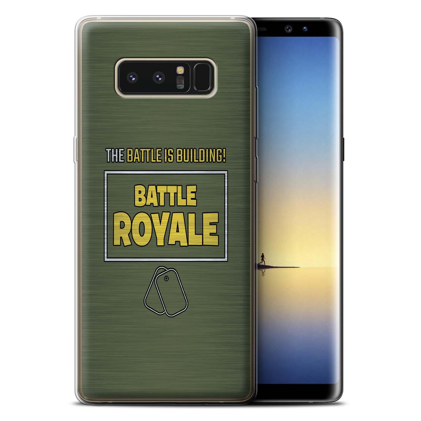Stuff4-Gel-TPU-Huelle-Case-fuer-Samsung-Galaxy-Note-8-N950-FN-Battle-Royale
