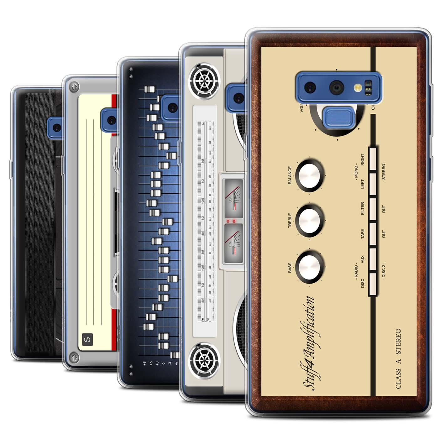 Gel-TPU-Case-for-Samsung-Galaxy-Note-9-N960-Retro-Tech