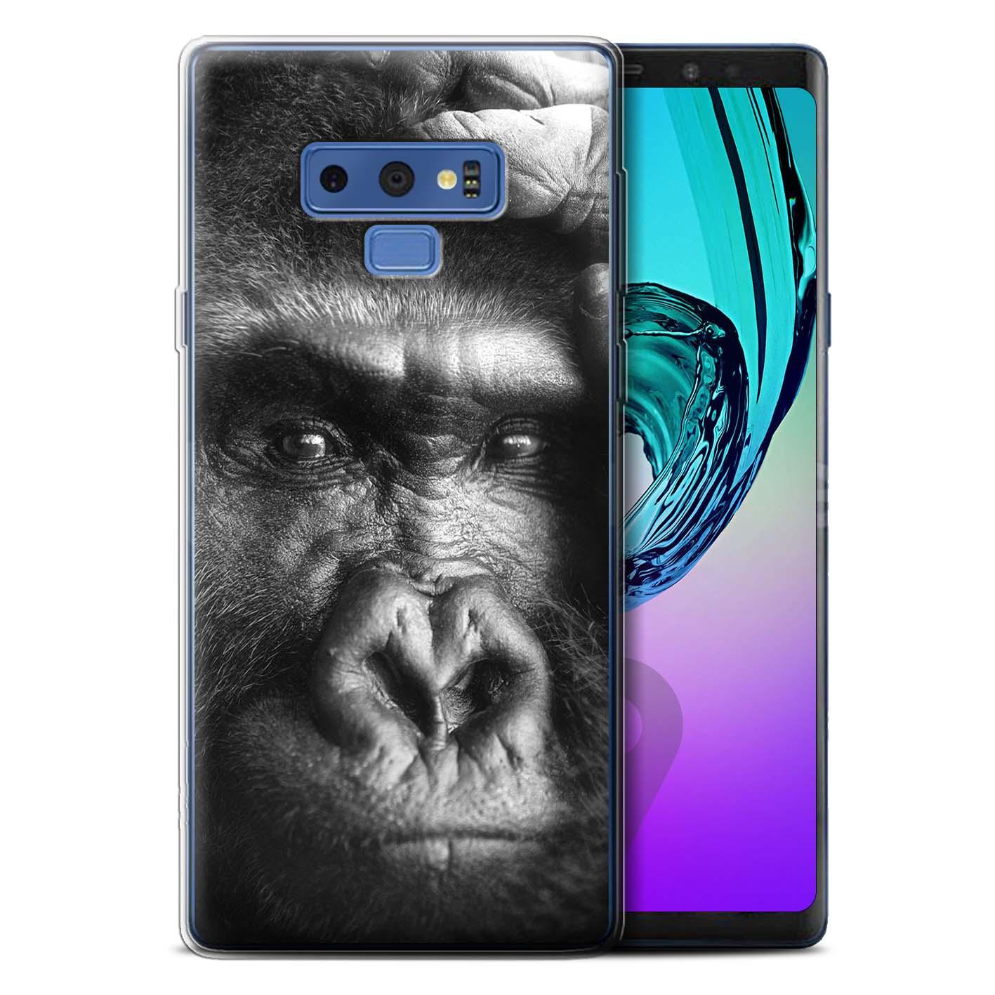 Gel-TPU-Case-for-Samsung-Galaxy-Note-9-N960-Mono-Zoo-Animals thumbnail 14