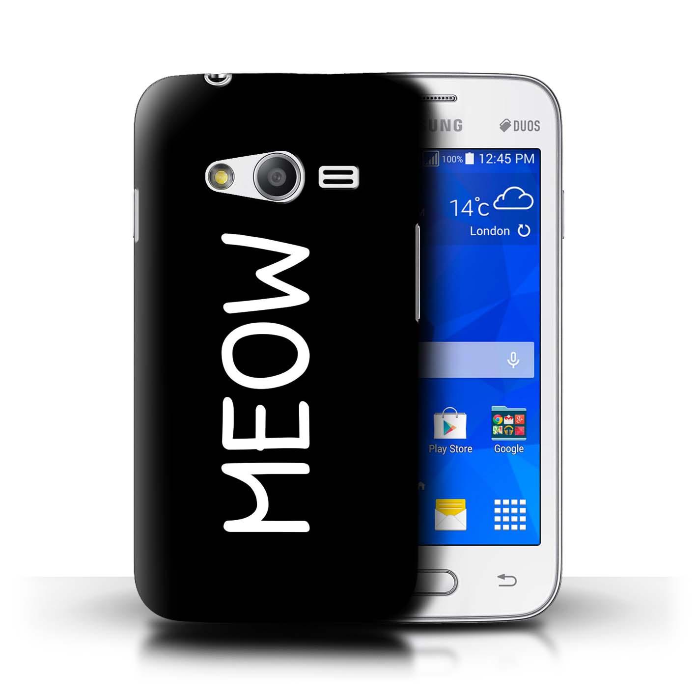 Stuff4-Huelle-Case-Backcover-fuer-Samsung-Galaxy-V-G313-Niedliche-Cartoon-Katze
