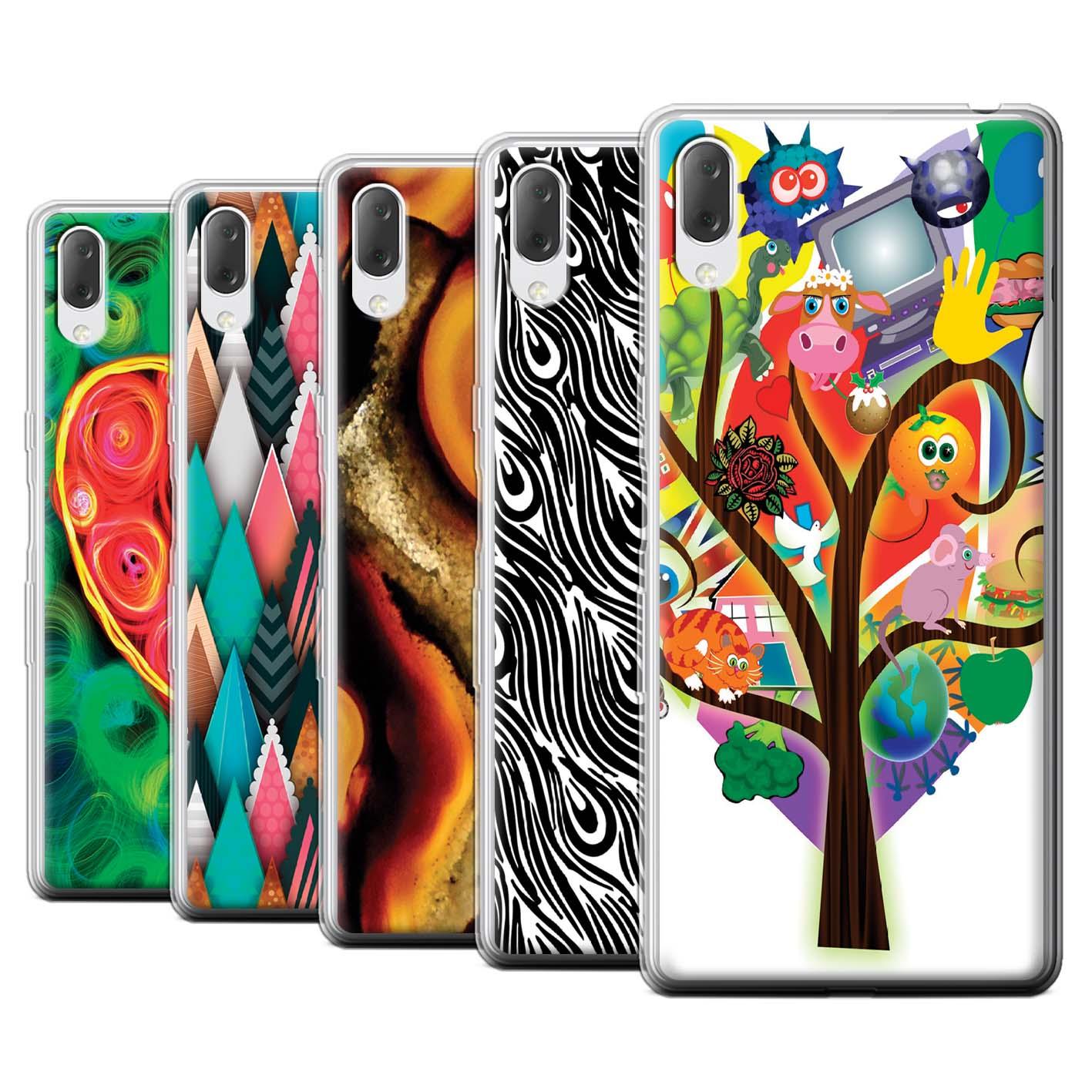 Gel-TPU-Case-for-Sony-Xperia-L3-2019-Modern-Vibrant