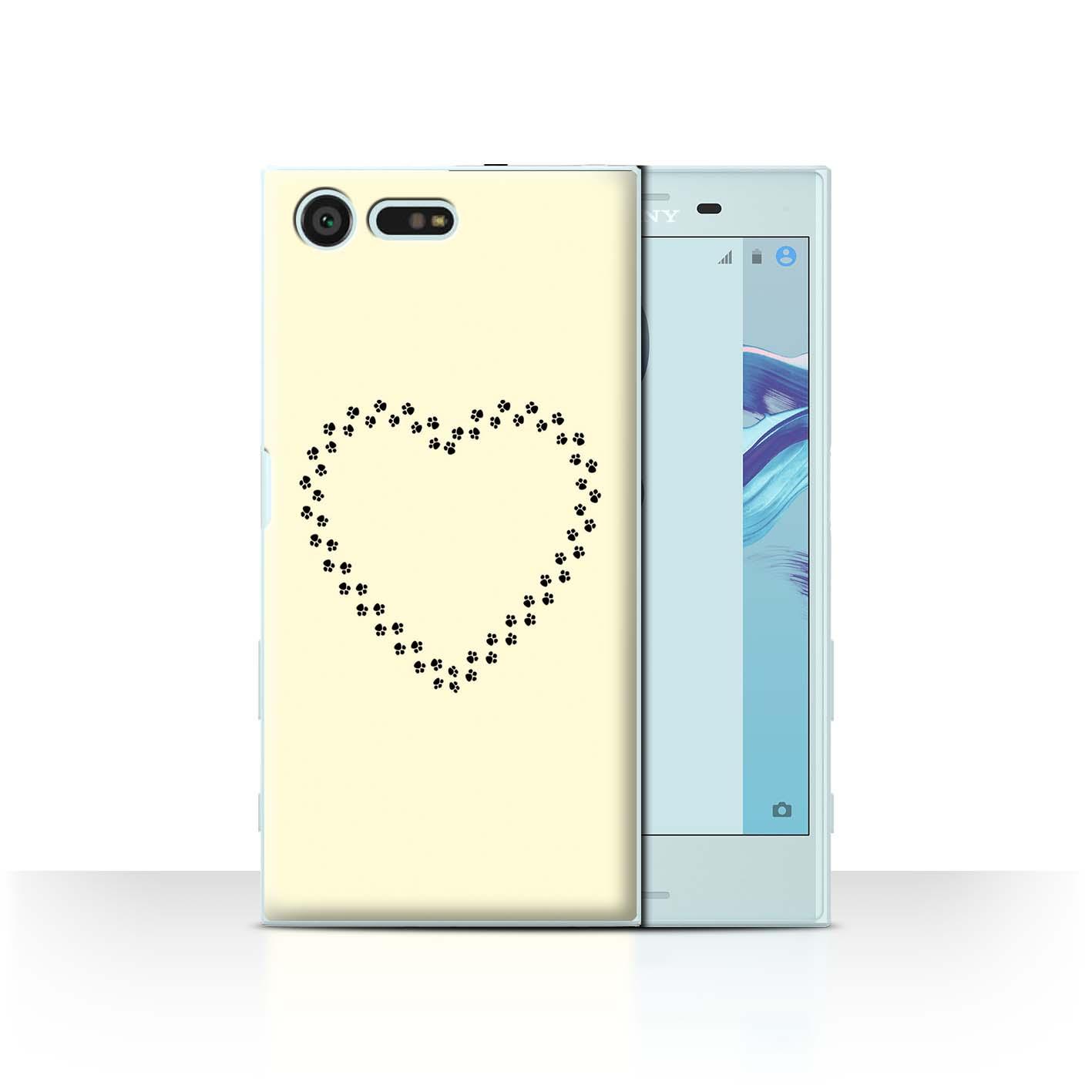 STUFF4-Back-Case-Cover-Skin-for-Sony-Xperia-X-Compact-Cute-Cartoon-Cat