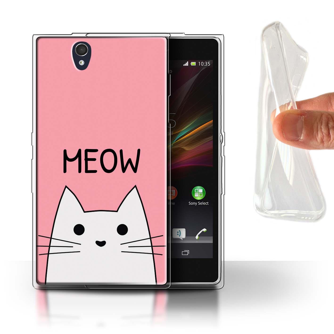 STUFF4-Gel-TPU-Case-Cover-for-Sony-Xperia-Z-Cute-Cartoon-Cat