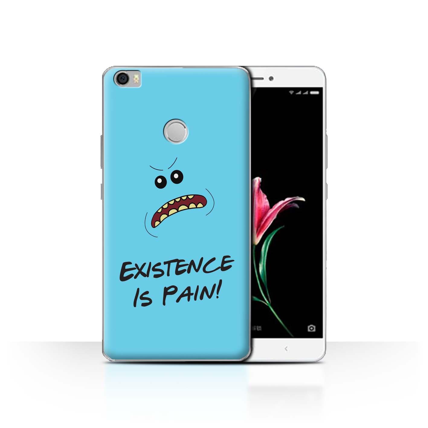 Coque-Etui-Housse-de-Stuff4-pour-Xiaomi-Mi-Max-Tele-Alien-Drole-Dessin-Anime