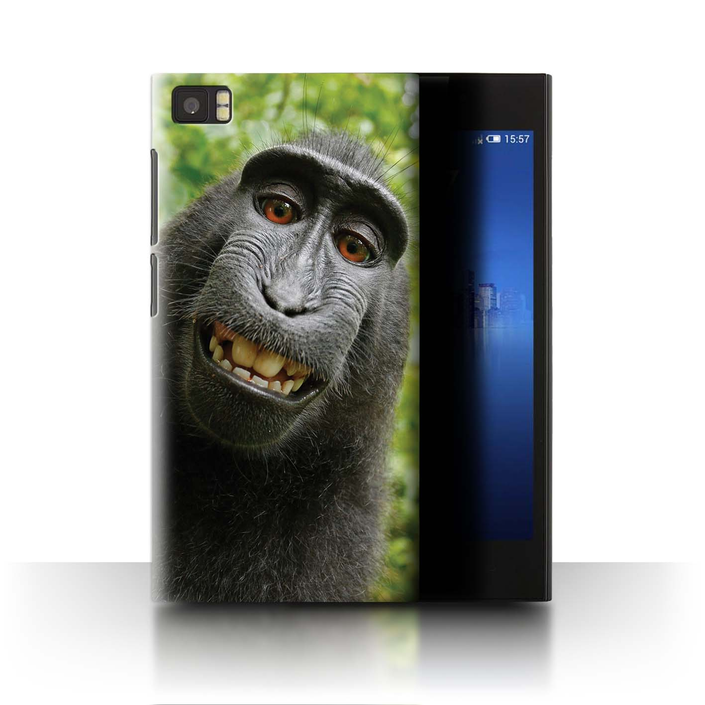 Stuff4-Huelle-Case-Backcover-fuer-Xiaomi-Mi-3-Lustiges-Tier-Meme