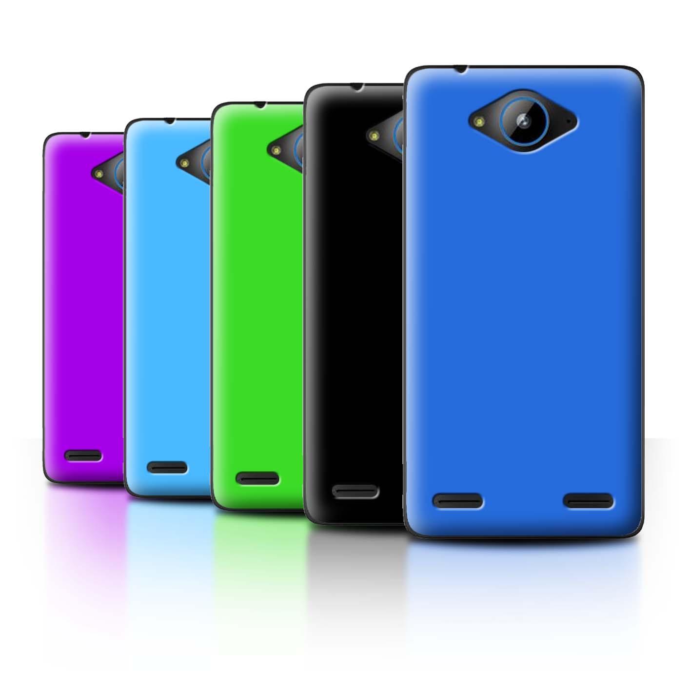 Purple Colours Design for Zte Blade L3 Plus Clear Hard Back Case