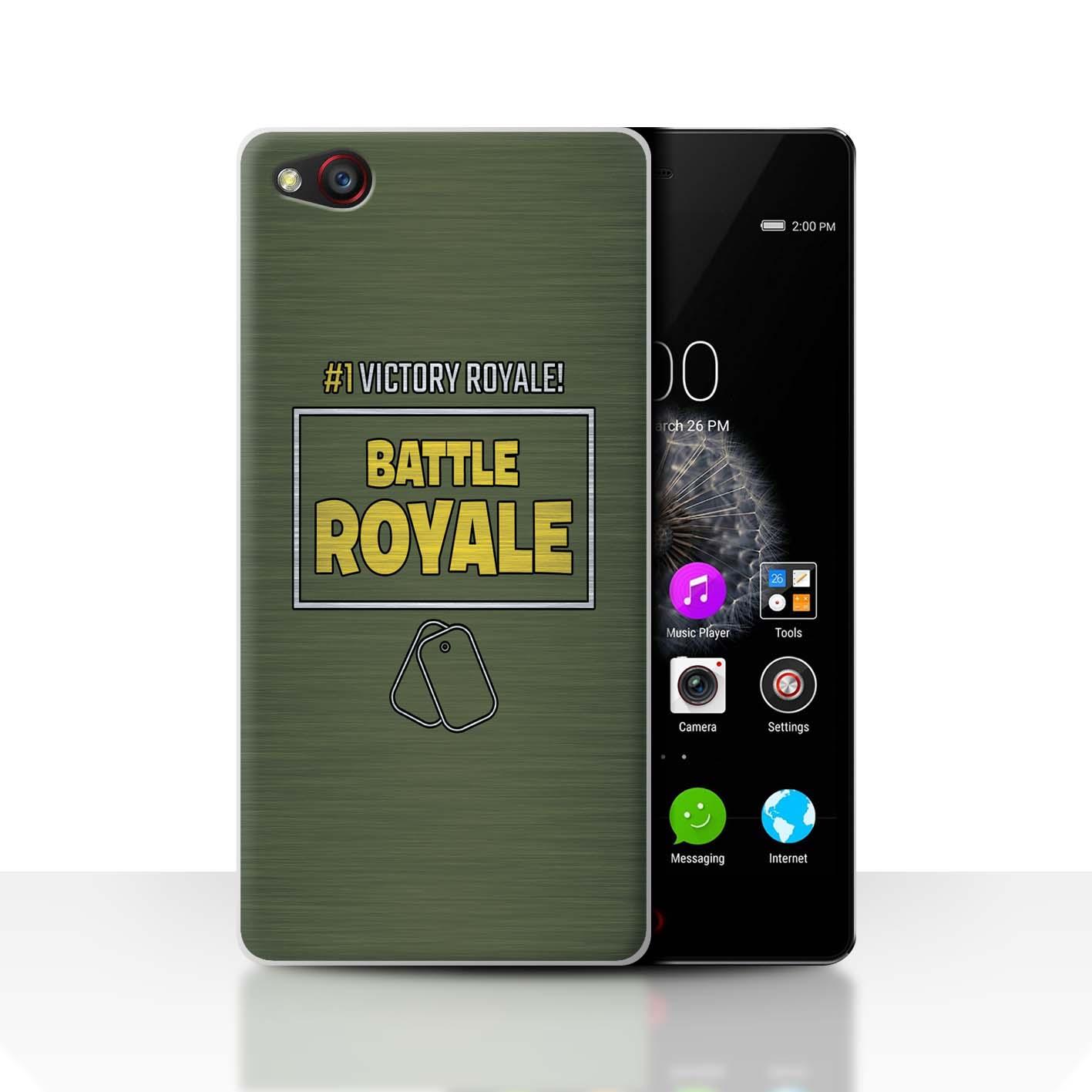 STUFF4-Phone-Case-Back-Cover-for-ZTE-Nubia-Z9-FN-Battle-Royale