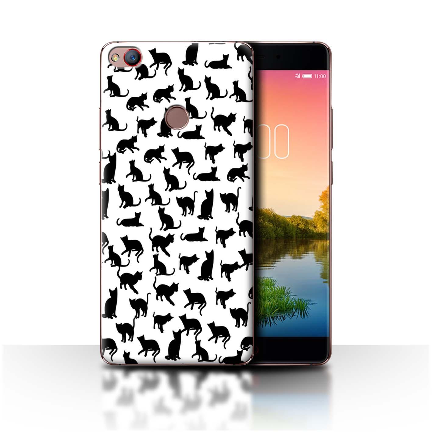 STUFF4-Back-Case-Cover-Skin-for-ZTE-Nubia-Z11-Cute-Cartoon-Cat